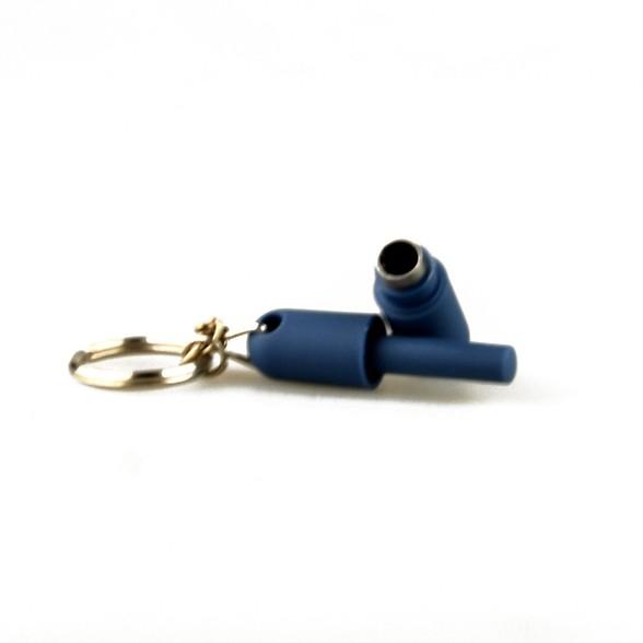 Cigar Accessories Basic Cigar Punch - Blue